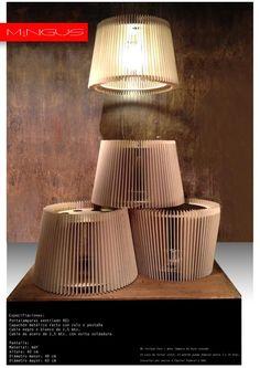 Lámpara Colgante De Madera Encastrada - Diseño Mingus 50cm - $ 1.000,00 en MercadoLibre