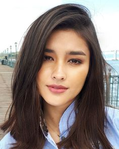 If you like your hairdo, there's no reason to agonize over making a s Liza Soberano, Straight Eyebrows, Filipina Beauty, Most Beautiful Faces, Asian Hair, Dark Hair, Pretty Face, Beauty Women, Asian Beauty