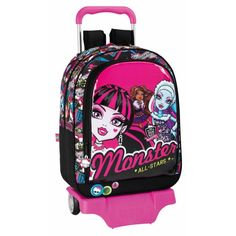 monster high trolley ou valise roulettes all stars ii prix promo la redoute 5799