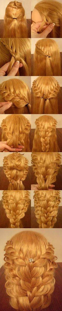 DIY Delicate Braided Hairstyle | iCreativeIdeas.com LIKE Us on Facebook ==> https://www.facebook.com/icreativeideas