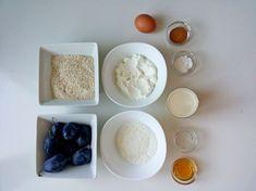 Jesenný slivkový fit koláč so škoricou (Recept) | REFRESHER.sk Dessert Recipes, Desserts, Fit, Tailgate Desserts, Deserts, Shape, Postres, Dessert, Desert Recipes