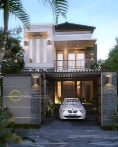 ideas for house front elevation design indian