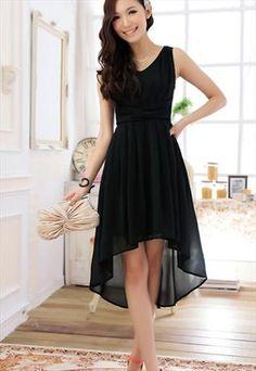 Lace back black dress by hoily