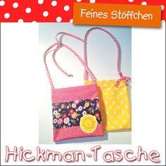 Hickman-Tasche nähen