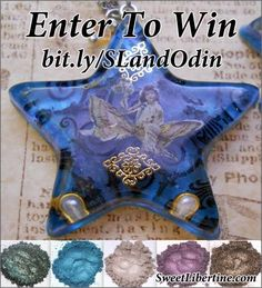 Win FREE Sweet Libertine eyeshadow and some gorgeous handmade jewelry - made from SL pigments! Odin's Musings: MYSTERY GIVEAWAY SHADOWS REVEALED!!!!