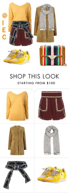 """Good Afternoon"" by kit92 ❤ liked on Polyvore featuring Étoile Isabel Marant, Philippe Model and Sara Battaglia"