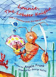 Lonnie the lobster has always dreamt of becoming a knight and somewhat of a Don Quixote. He wants to travel and help and protect the sea and its life. http://aggelikipapadopoulou.wixsite.com/angela-frank/book-inner