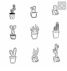 Simple Cactus Tattoo Ideas