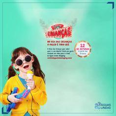 No Dia das Crianças do Águas Lindas Shopping, quem domina o palco é o seu filho!
