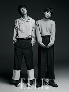 LEE SEUNGHOON x KIM JINWOO x WINNER   ELLE MAGAZINE DECEMBER '14 ISSUE