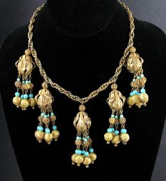 Miriam Haskell Pendant Necklace - Google Search