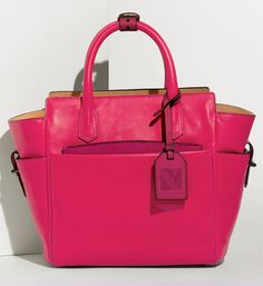 I now have a 'summer' bag in this color... :) I finally have a pink purse :) Even though mine is different ... with gold hardware....