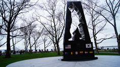 Battery Park, NYC. War memorial.