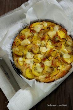 Focaccia con patate e Lardo di Colonnata