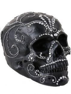 """Studded Skull"" (Black)"