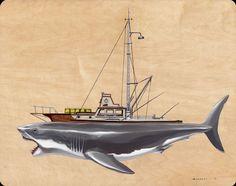 Amazing Jaws-Themed Art