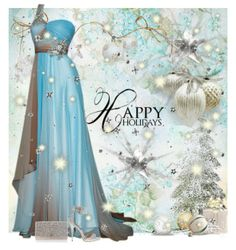 winter elegant party dress, snow white