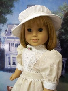 Victorian/Edwardian Styles design by Eve Coleman of Keepers Dolly Duds to fit American Girl Dolls Samantha and Nellie