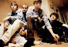 Liam, Guigsy, Bonehead, Noel, Tony Liam Gallagher Oasis, Noel Gallagher, Great Bands, Cool Bands, Oasis Music, Alan White, All Goes Wrong, Britpop, Bands