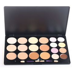 PhantomSky 20 Color Cream Concealer Camouflage Makeup Palette Contouring Kit Combination with Brush - Perfect for Professional and Daily Use *** This is an Amazon Affiliate link. You can find out more details at the link of the image.