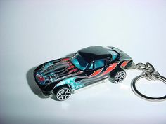 New 3D 1963 Chevrolet Corvette Custom Keychain keyring key