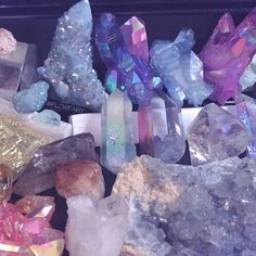 Crystal therapy.
