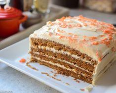 Napoleonskake - Denne kjente klassikeren begynner å bli v. Carrot Cake, No Bake Desserts, Let Them Eat Cake, Cheesecakes, Vanilla Cake, Carrots, Nom Nom, Dinner Recipes, Food And Drink