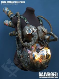The Womb - a post apocalyptic life support system for Creepy Dolls created for LARP. SALVAGED enquiries welcome at www.markcordory.com