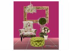 floral fresh design challenge - forward fuschia