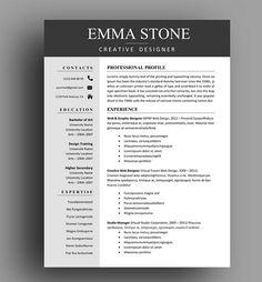 Instant Resume Templates Creative Resume Template Modern Design Mactheshinedesignstudio