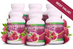 Raspberry Ketone Plus (360 Capsules 6 Bottles) - BEST VALUE! 6KETONEPLUS