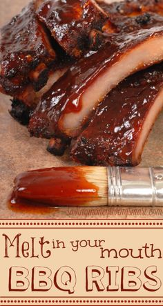 Mouth watering BBQ Ribs!