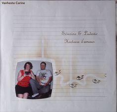 #Scrapbooking #Azza #Gabarits  #Templates #Sjablonen #Photo Unique #Thème Naissence   #Vanheste Carine #Page Intercalaires #Joue