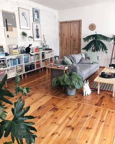 """Home Decor & Interior Designs on Instagram: """"Such an incredible livingroom!💚🌱 Love the flooring here!😍 What do you like about it?🥰 Let us know!👇 🏡Follow us @perfect.homess 🌈Follow us…"""""""
