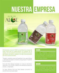 Flor de aloe dedicados al cuidado de su salud, produciendo efectivos complementos alimenticios a base de sabila y nopal