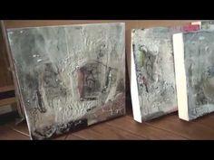 Susan Ukkola - Encaustic Painter and Teacher - YouTube