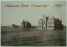 Oklahoma State University - 1899