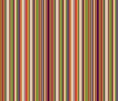 Fourth Doctor Scarf Stripes fabric by risarocksit on Spoonflower - custom fabric