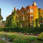 The luxury 5 star Pennyhill Park Hotel & Spa.