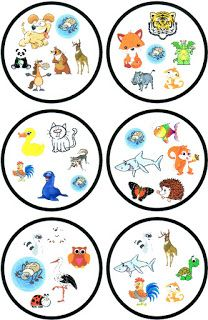 Circle Game, Table Games, Board Games, Free Printables, Decorative Plates, Preschool, Teaching, Education, Cards