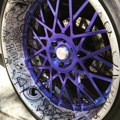 You see me rollin. _______________________________________ freehand painted artwork on American Racing forged concave billet wheels. Custom Wheels, Custom Cars, Vw R32, American Racing Wheels, Cool Car Accessories, Street Racing Cars, Rims For Cars, Car Mods, Car Gadgets