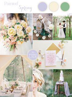 Enchanted Garden Wedding Ideas in Opal and Lavender - Hey Wedding Lady Spring Wedding Colors, Yellow Wedding, Dream Wedding, Wedding Themes, Wedding Decorations, Wedding Ideas, Wedding Planning, Wedding Inspiration, Pastel Wedding Dresses