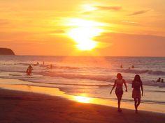 Playas de la costa del Pacífico del Ecuaor