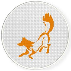 FREE for Oct 5th 201 Only - Orange Fox Cross Stitch Pattern