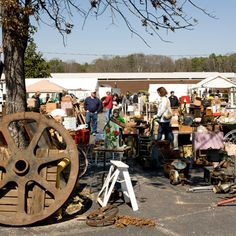 Arrive Early and Start Outside - Shop Scott Antique Markets in Atlanta - Southern Living