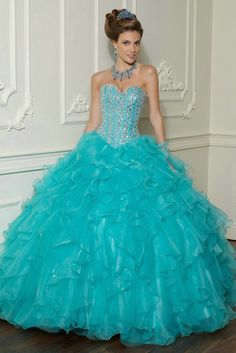 Short Sweet A-line Tulle sweet sixteen Dress with Diamond Ornament ...