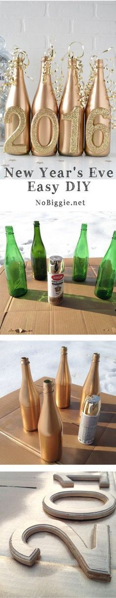 A quick and easy DIY project to get festive for the New Year!