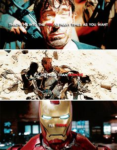 People like me are dangerous. #marvel