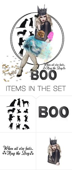 """Hug the dog!"" by makeup-queen-anna ❤ liked on Polyvore featuring art"