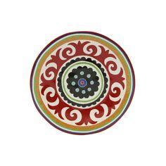 Camicado - Prato de Sobremesa Folk Branco - Home Style